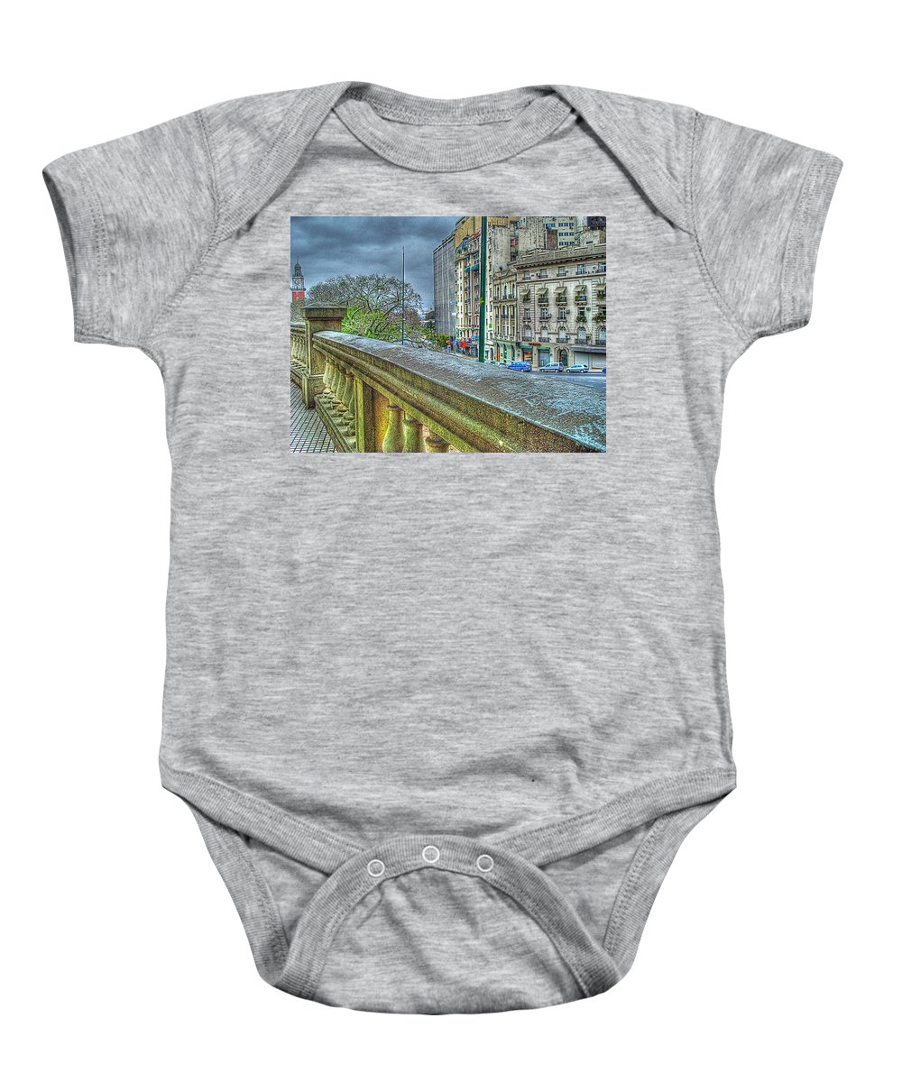 City Baby Onesie featuring the photograph Leandro Lam by Francisco Colon