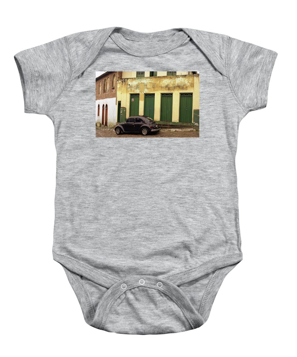 Bahia Baby Onesie featuring the photograph Lencois - Bug by Patrick Klauss