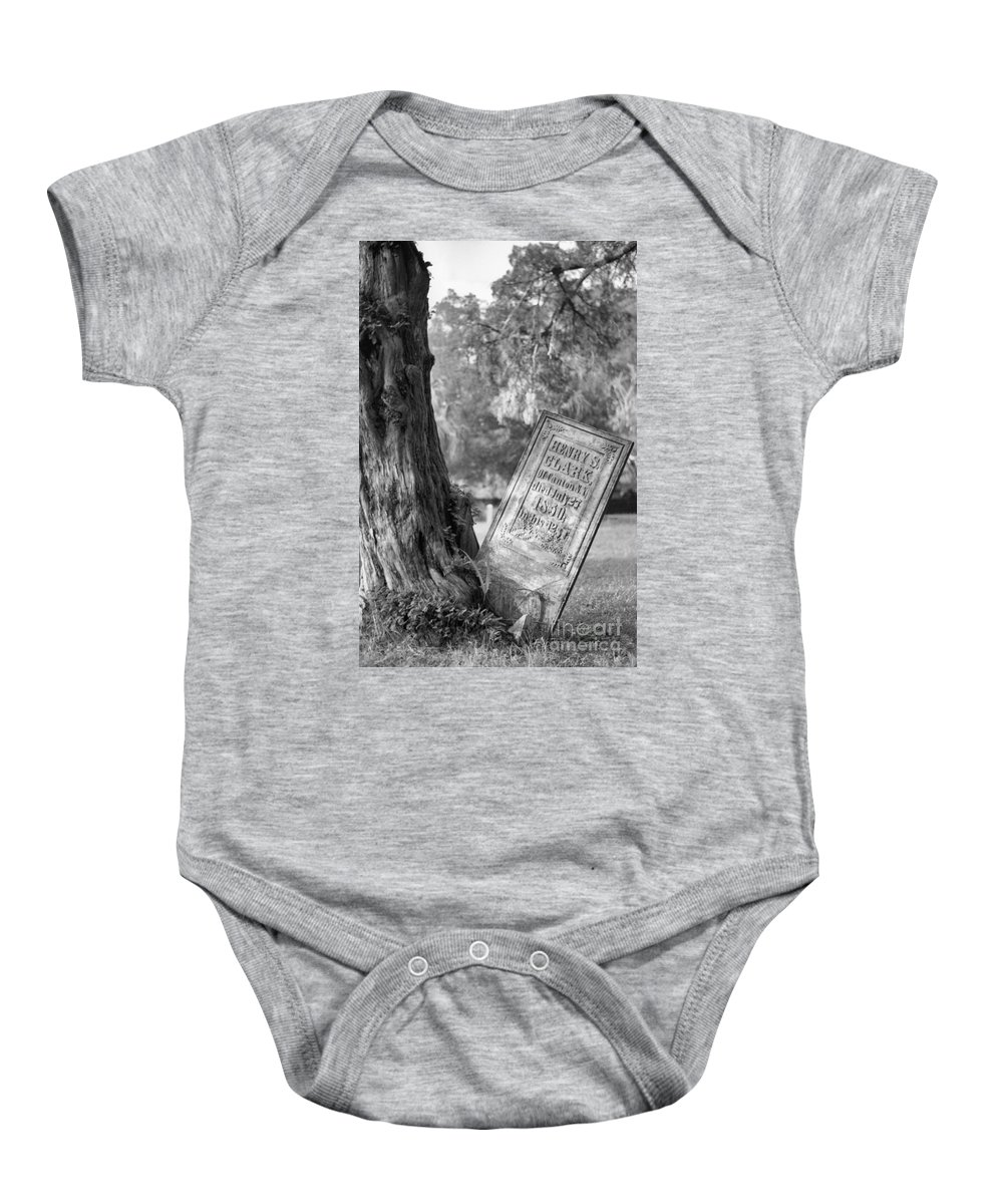 Graves Baby Onesie featuring the photograph Life After Death by Richard Rizzo