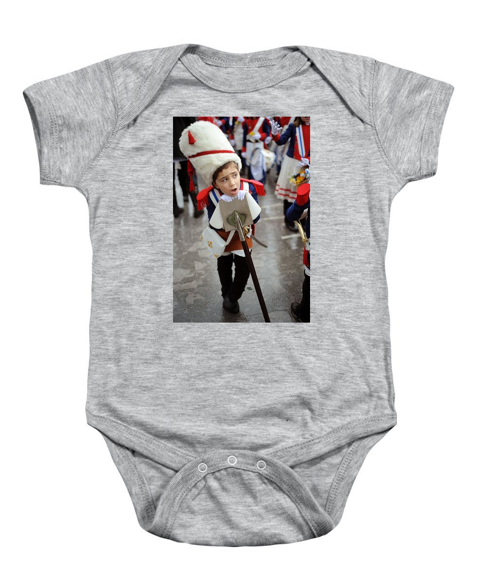 Spain Baby Onesie featuring the photograph Little Soldier by Rafa Rivas