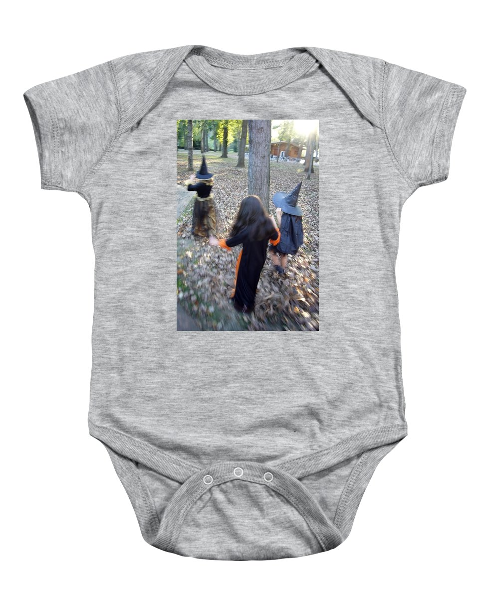Spain Baby Onesie featuring the photograph Little Witches by Rafa Rivas