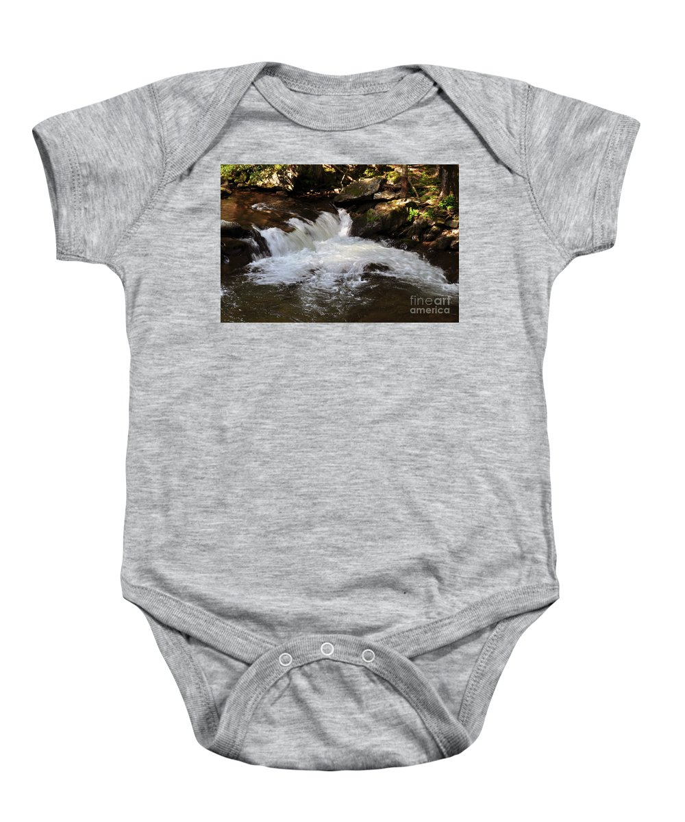 Living Streams Baby Onesie featuring the photograph Living Streams by Lydia Holly