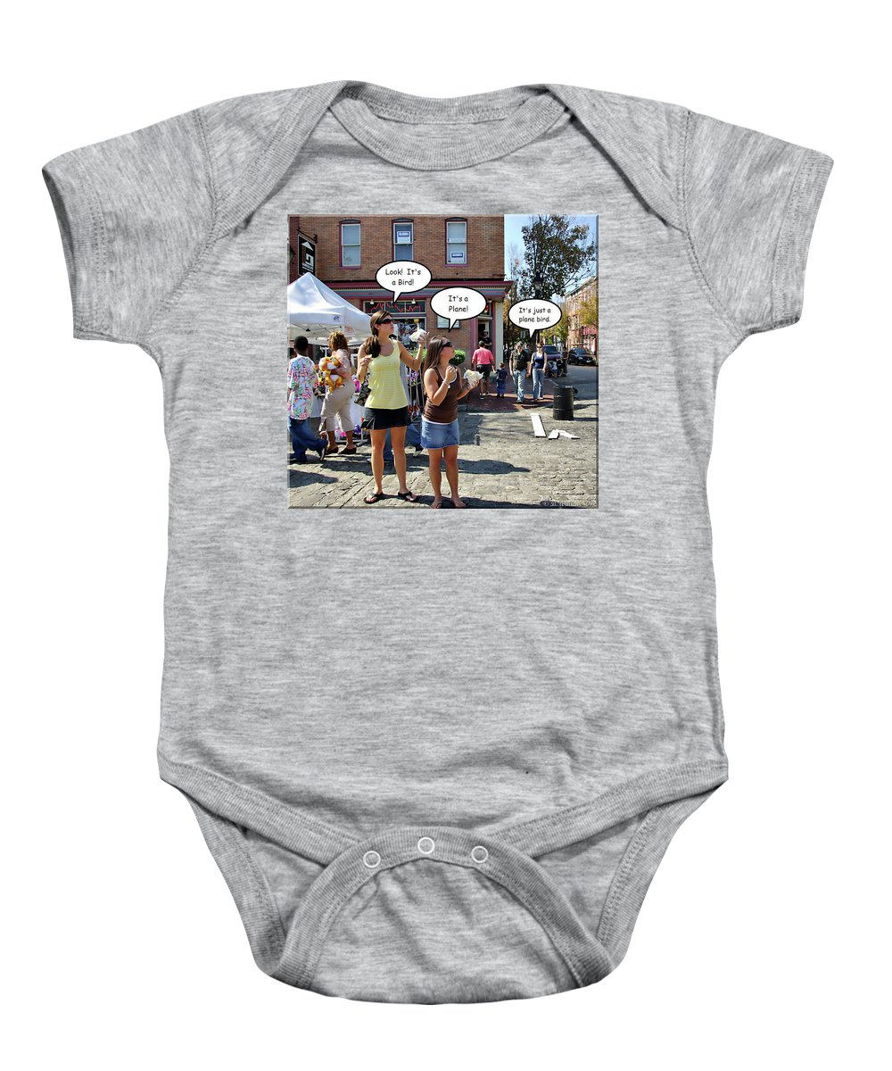 2d Baby Onesie featuring the photograph Look Up In The Sky by Brian Wallace
