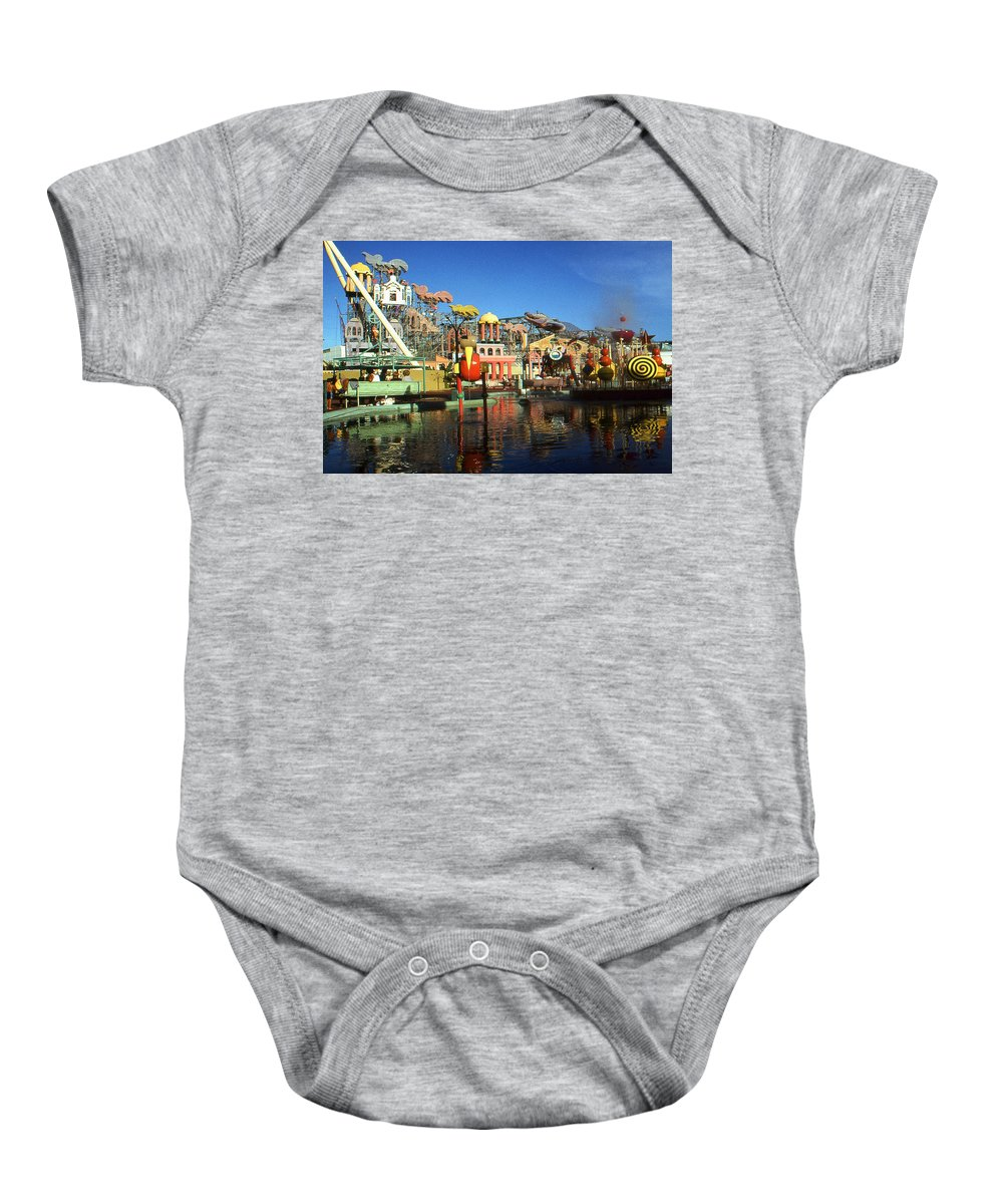 New+orleans Baby Onesie featuring the photograph Louisiana Worlds Fair 1984 - New Orleans Photo Art by Peter Potter