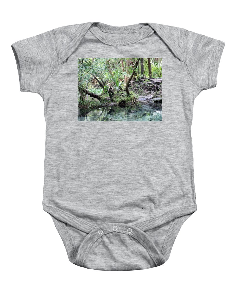 Landscape Baby Onesie featuring the photograph Lovely Lithia Springs by Carol Groenen