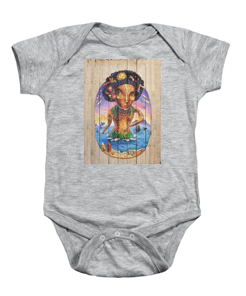 Mami-wata Of Muizenberg Baby Onesie
