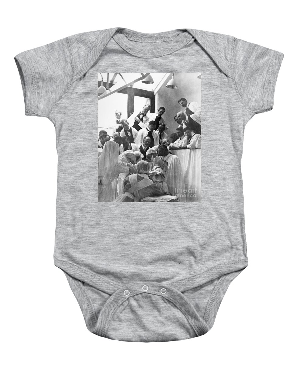 1913 Baby Onesie featuring the photograph Mayo Clinic, 1913 by Granger