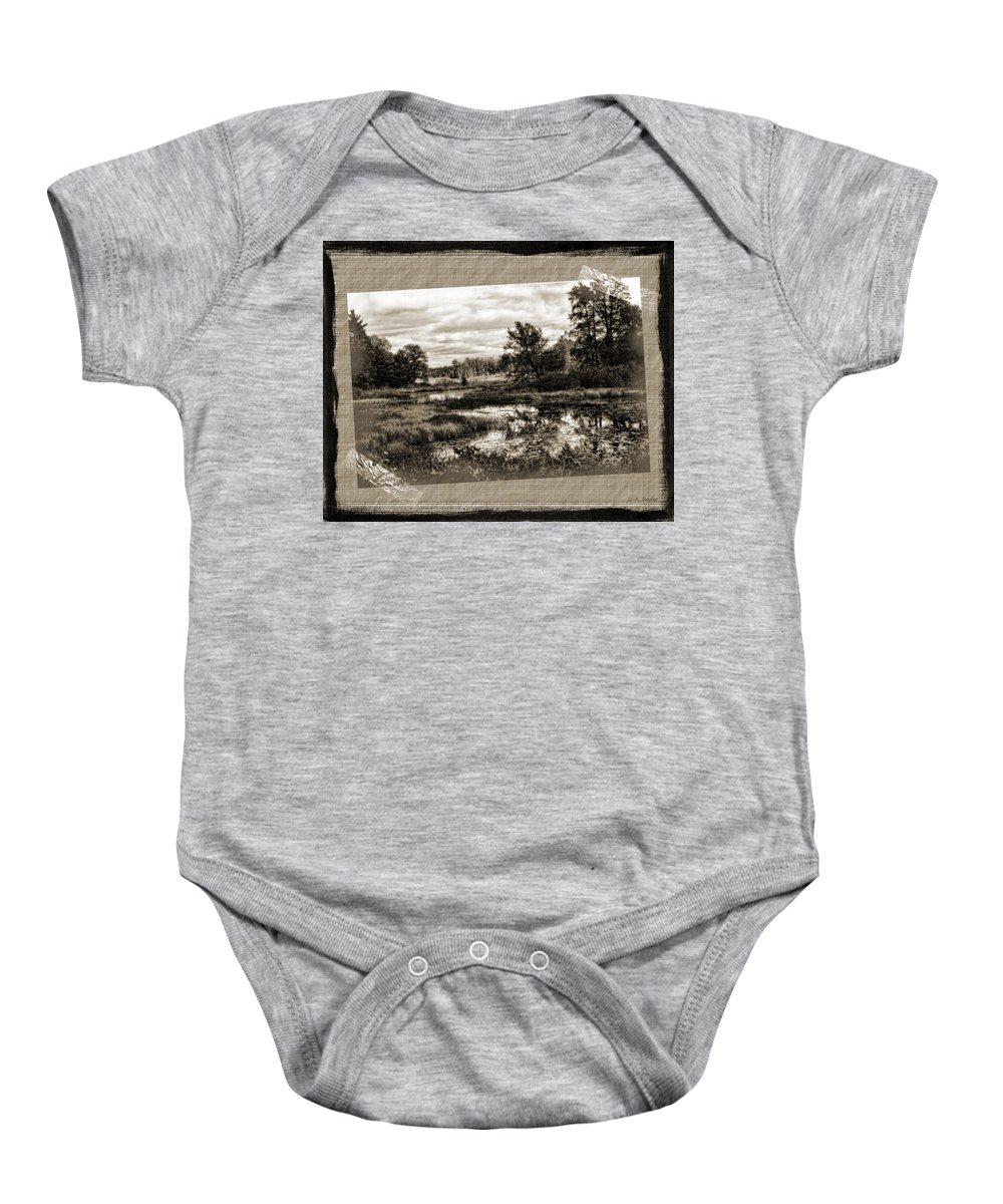 Nostalgia Baby Onesie featuring the photograph Memories by Lauren Radke