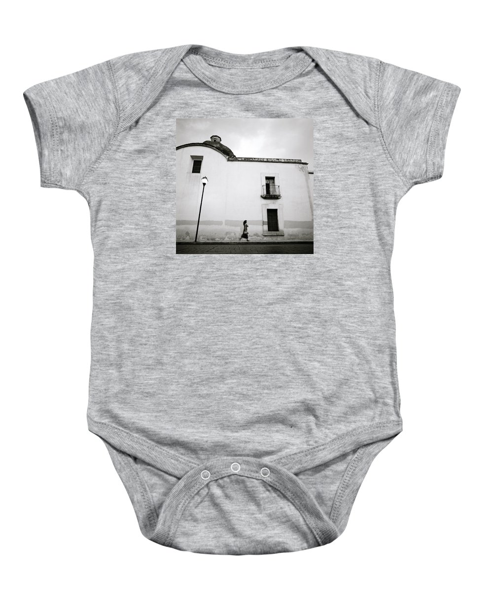 Mexico Baby Onesie featuring the photograph Mexican Twilight by Shaun Higson
