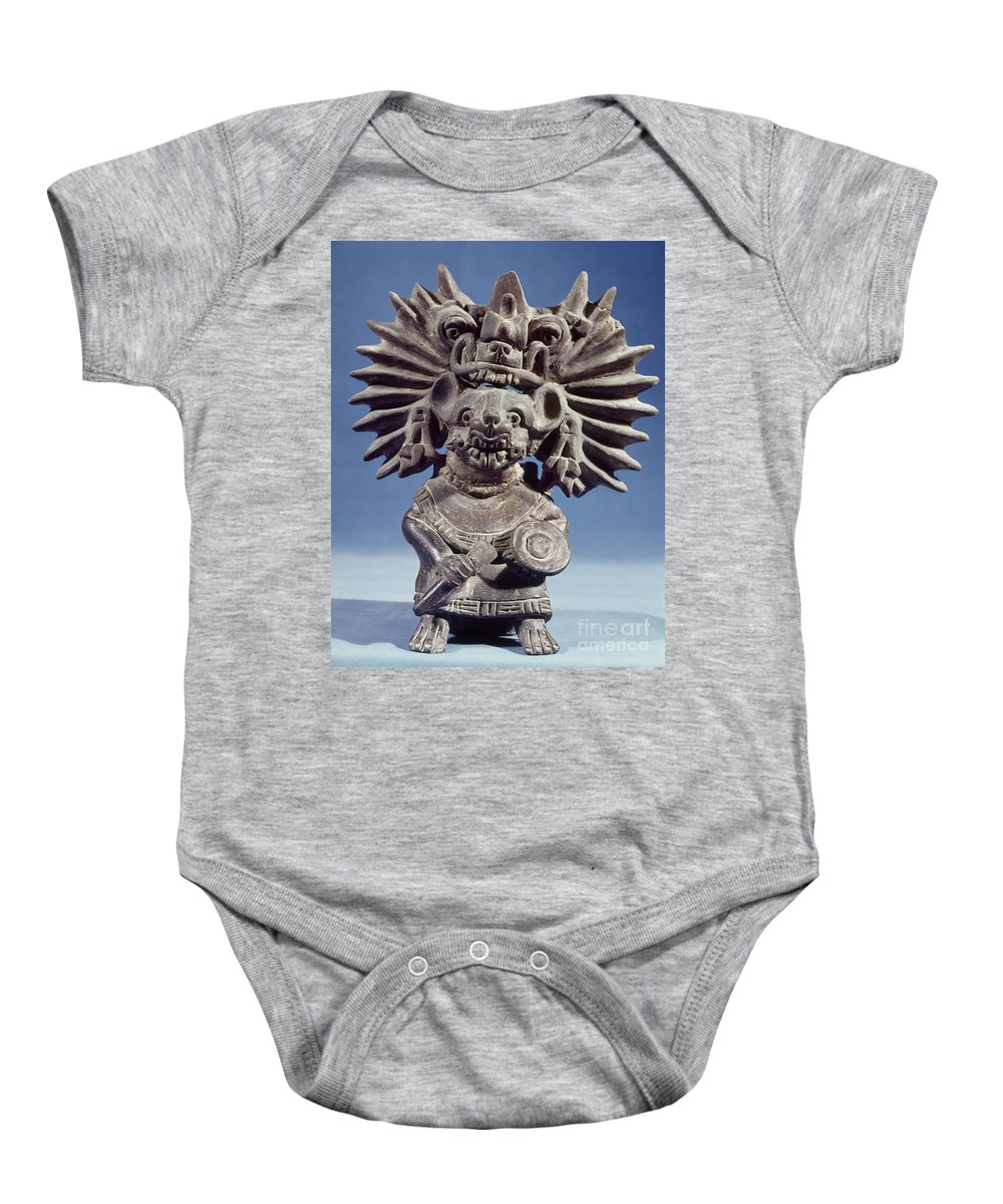 100 Baby Onesie featuring the photograph Mexico: Vampire Goddess by Granger