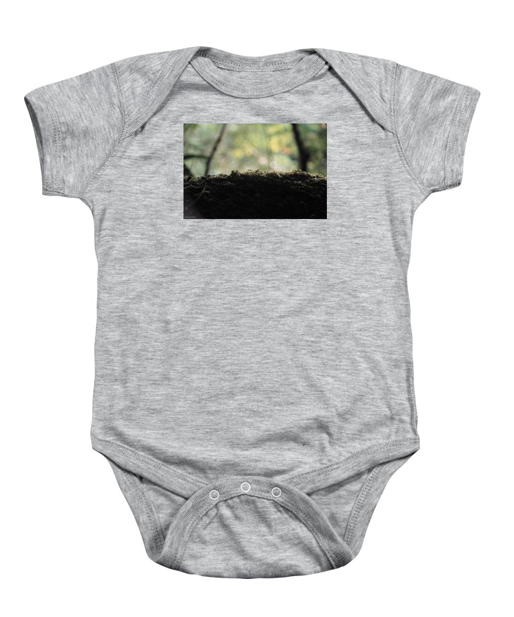 Rooth Baby Onesie featuring the photograph Microsmos by David Cardona