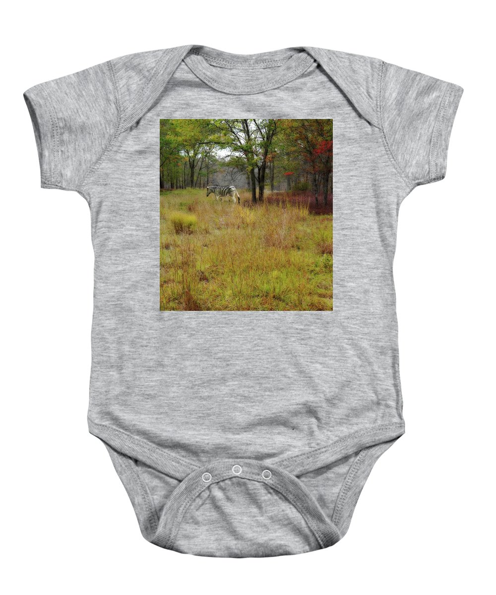Meadow Baby Onesie featuring the photograph Miracle In The Meadow by Cheryl Kurman