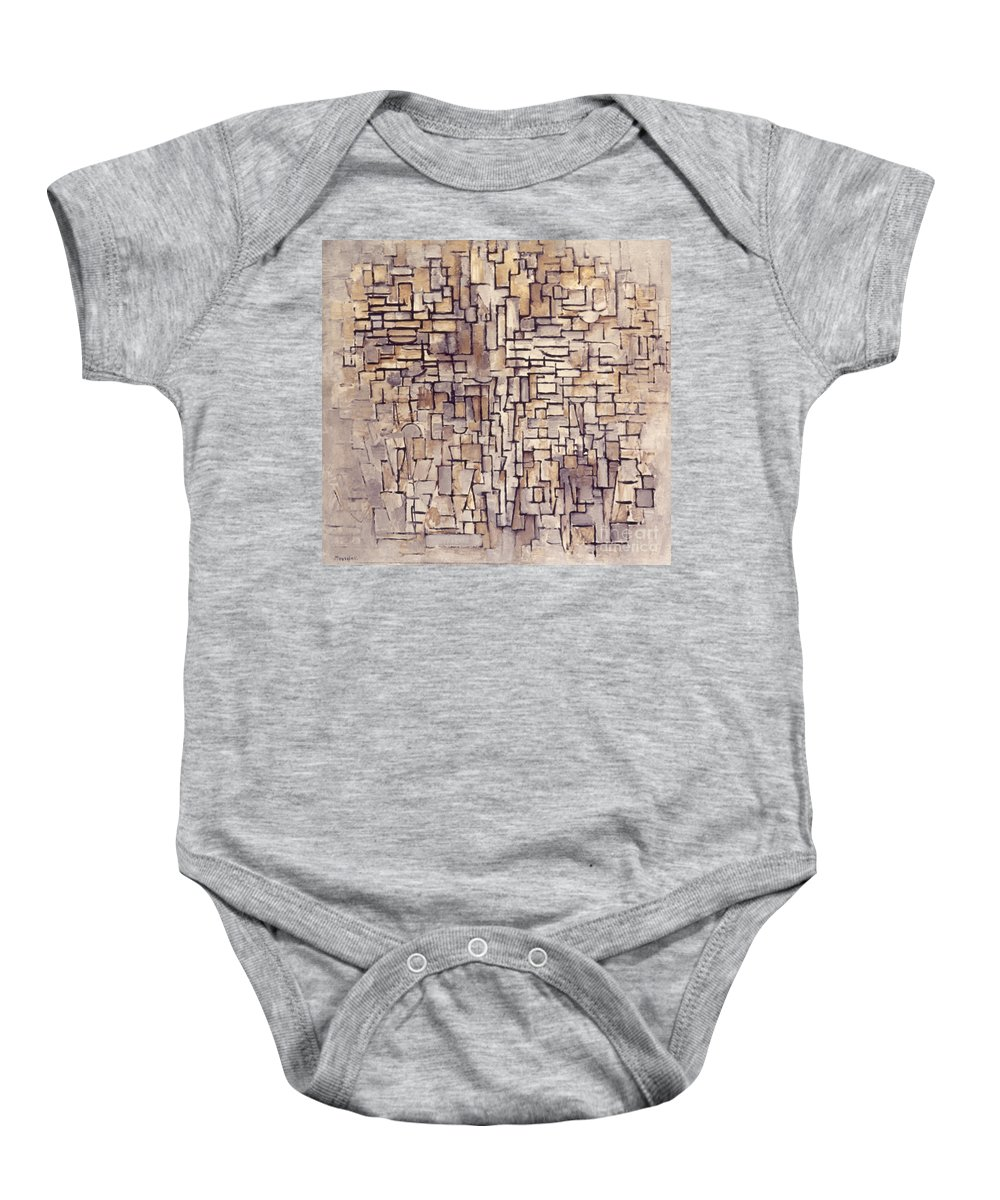 1913 Baby Onesie featuring the photograph Mondrian: Composition, 1913 by Granger
