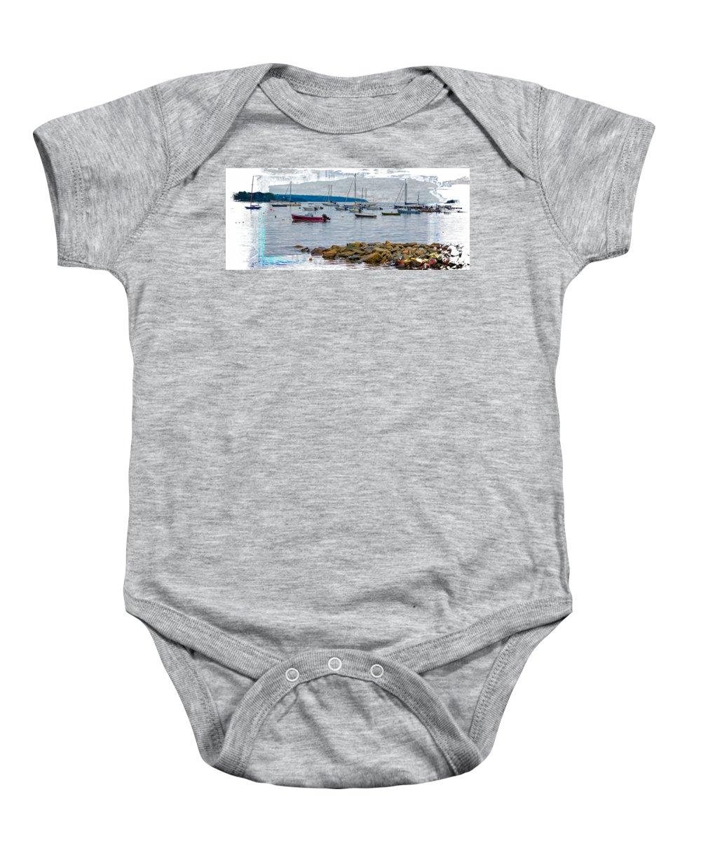 New England Coast Baby Onesies