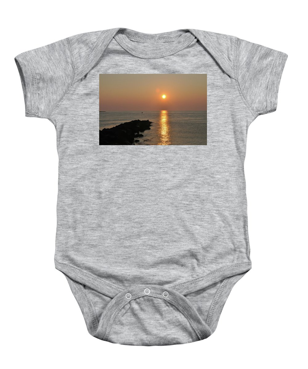Sun Baby Onesie featuring the photograph Morning Sun by Bill Cannon