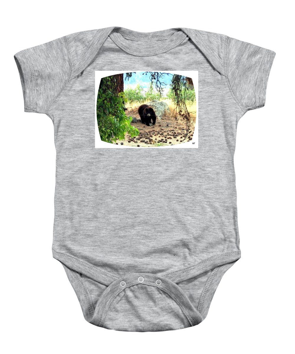 Bear Baby Onesie featuring the photograph Mother Bear by Will Borden