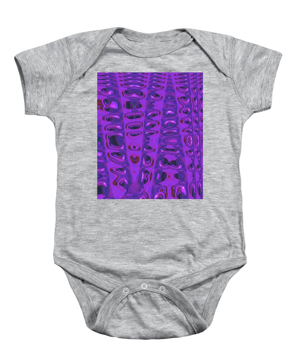 Moveonart! Digital Gallery Baby Onesie featuring the digital art Moveonart Touched 5 by Jacob Kanduch
