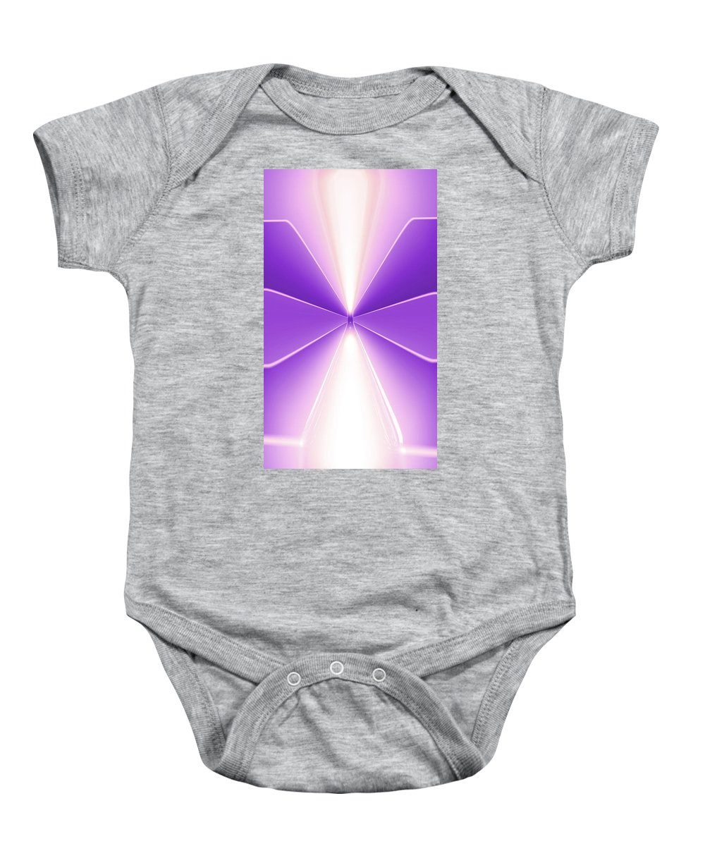 Moveonart! Digital Gallery Lower Nob Hill San Francisco California Jacob Kanduch Baby Onesie featuring the digital art Moveonart Turn Our Light Up 2 by Jacob Kanduch