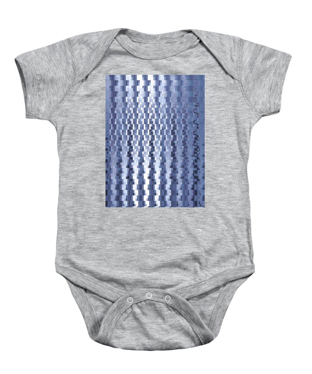 Moveonart Digital Gallery San Francisco California Lower Nob Hill Jacob Kane Kanduch Baby Onesie featuring the digital art Moveonart Urban Dilemma 1 by Jacob Kanduch