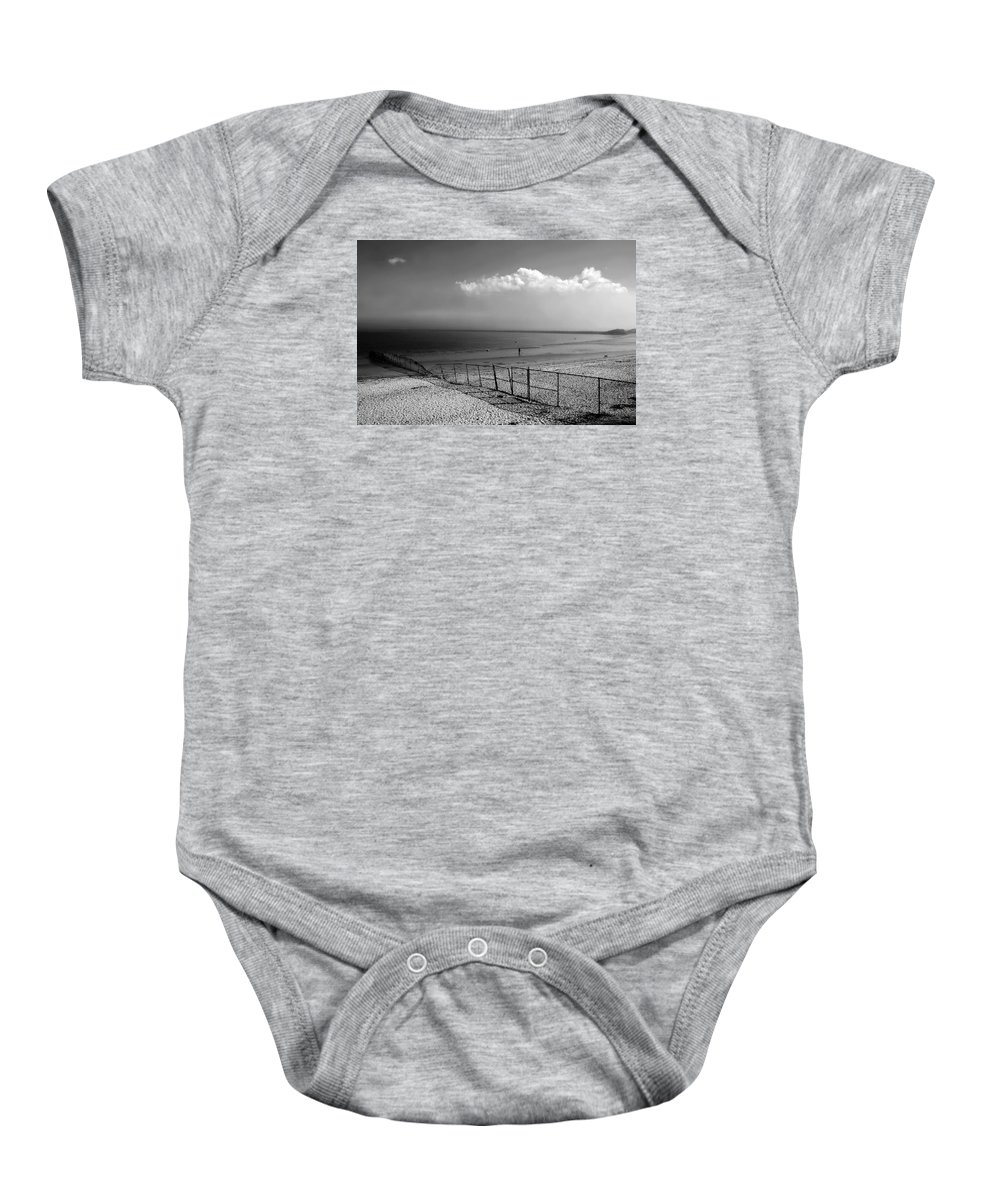 Landscape Baby Onesie featuring the photograph My Head's In The Cloud by Diana Angstadt