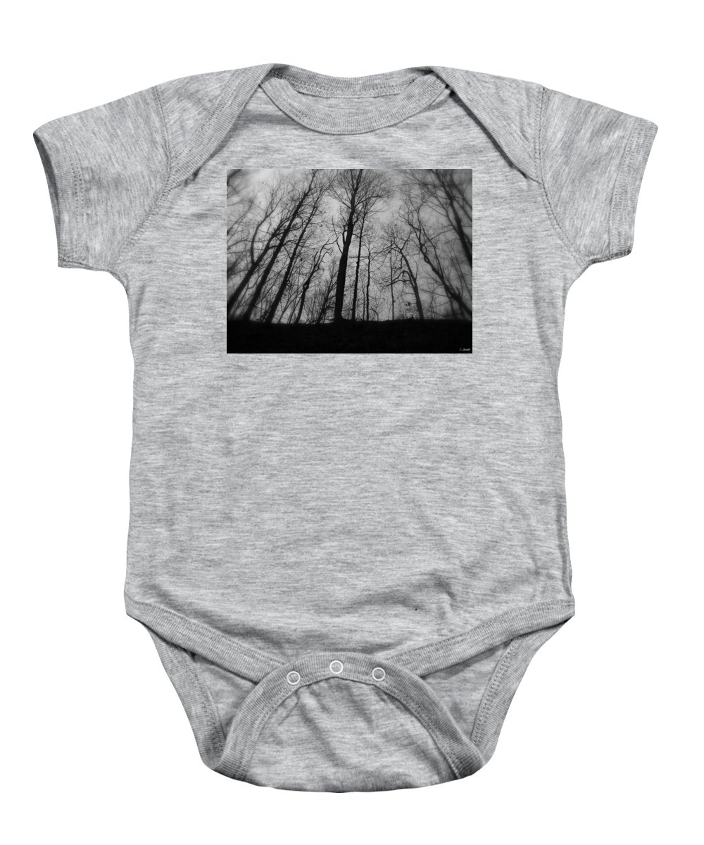 My Naked Friends Baby Onesie featuring the photograph My Naked Friends by Ed Smith