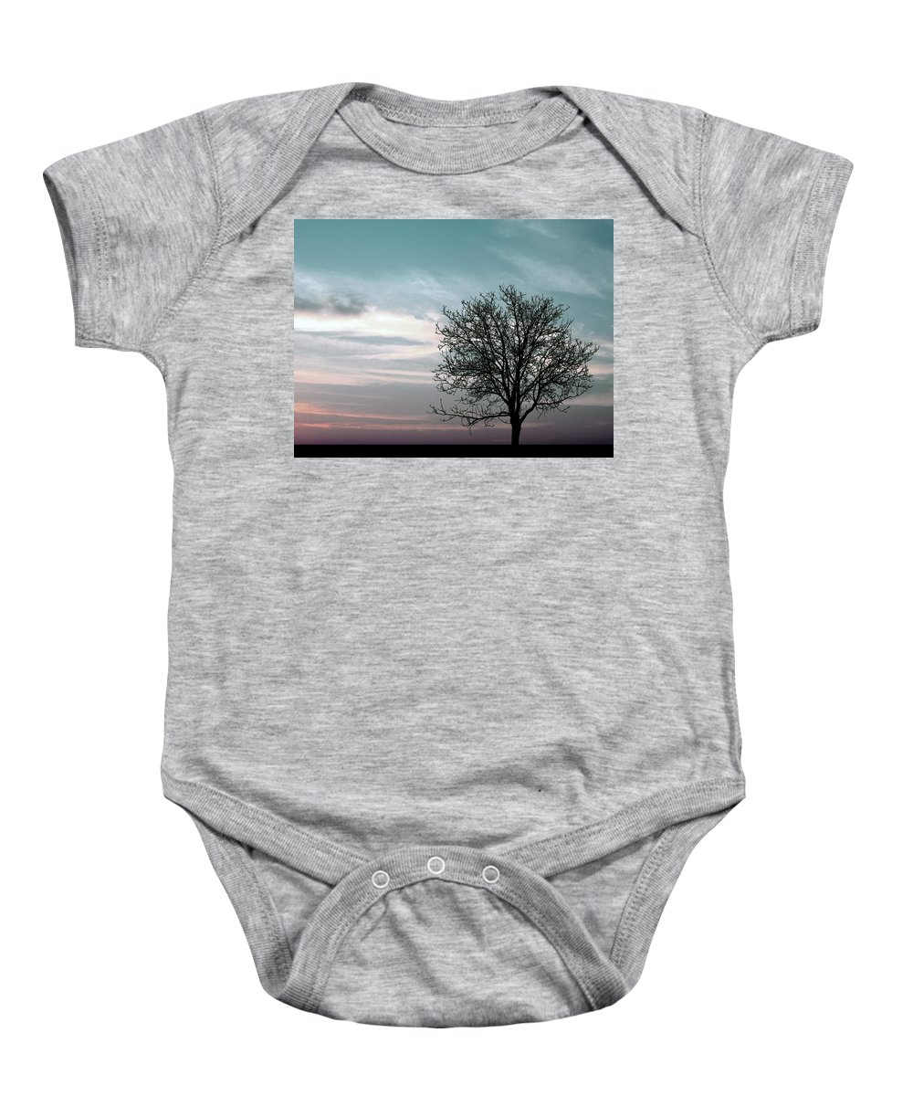 Nature Baby Onesie featuring the photograph Nature - Early Sunrise by Munir Alawi