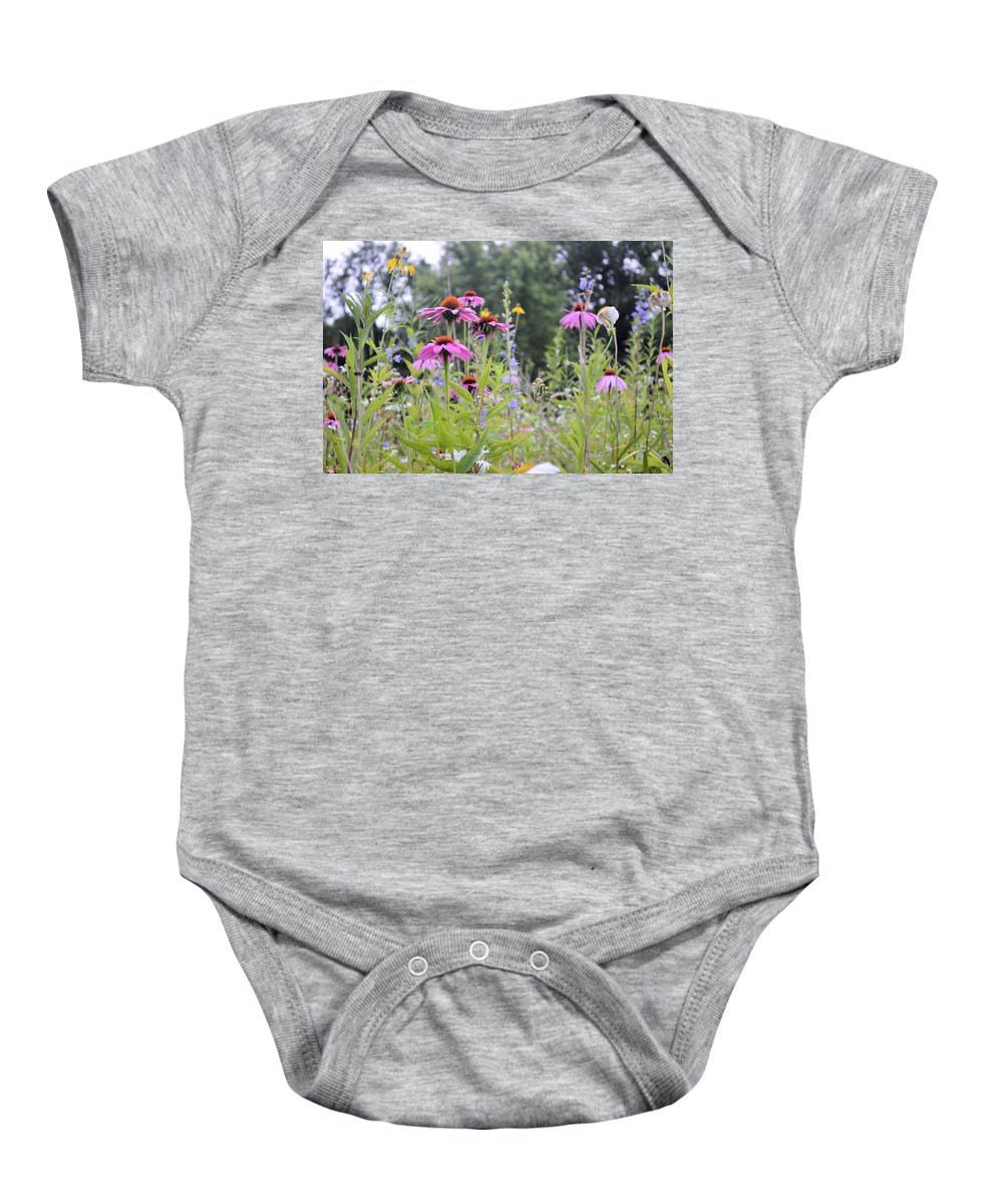 Bouquet Baby Onesie featuring the photograph Natures Bouquet by Bonfire Photography
