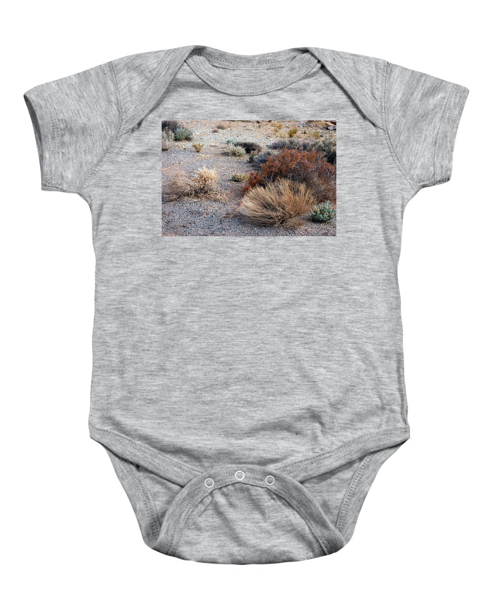 Sage Brush Baby Onesie featuring the photograph Natures Garden - Utah by D'Arcy Evans