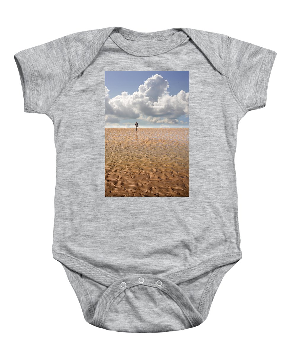 Landscape Baby Onesie featuring the photograph Never Go Back by Mal Bray