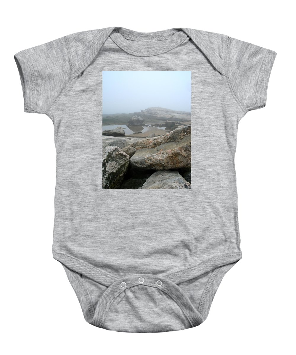 Landscape Baby Onesie featuring the photograph No Line On The Horizon by Nelson F Martinez