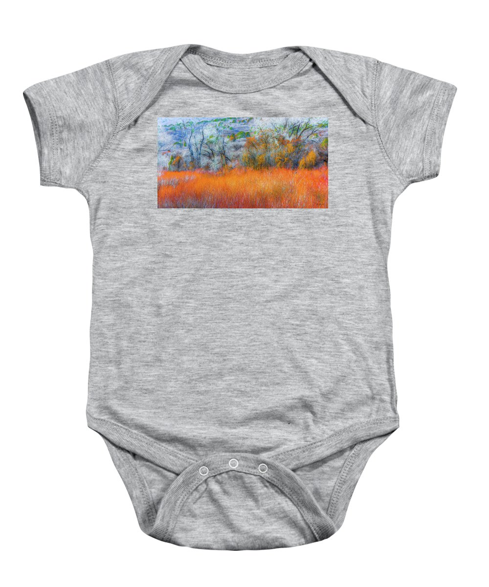 Baby Onesie featuring the photograph November by Dean Arneson