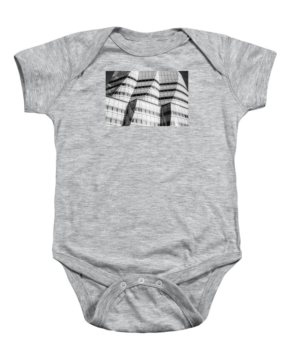 Manhattan Baby Onesie featuring the photograph Nyc Iceberg by Lisa Merrill