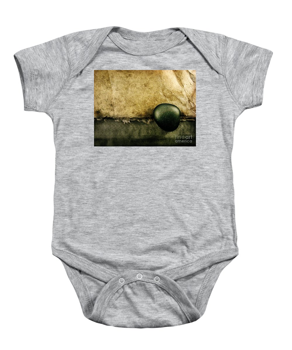 Dipasquale Baby Onesie featuring the photograph Obligatory by Dana DiPasquale
