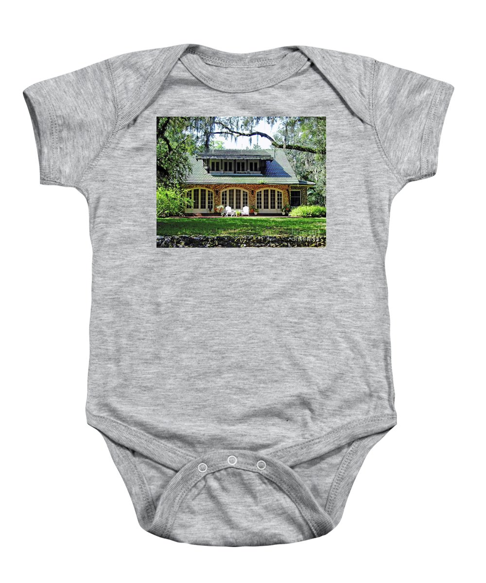Chert Baby Onesie featuring the photograph Ocala Limestone Home by D Hackett
