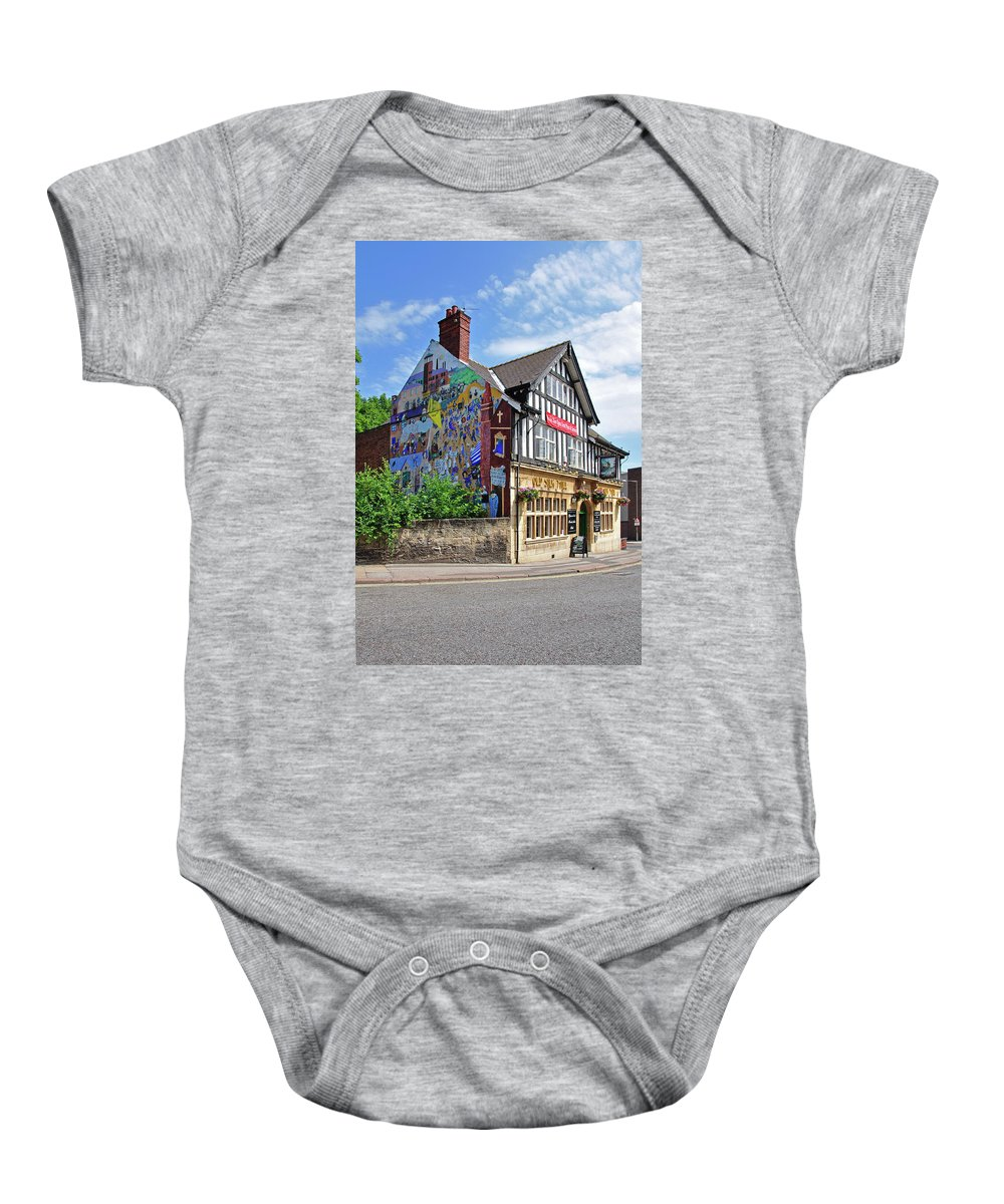 Outdoors Baby Onesie featuring the photograph Old Silk Mill - Derby by Rod Johnson