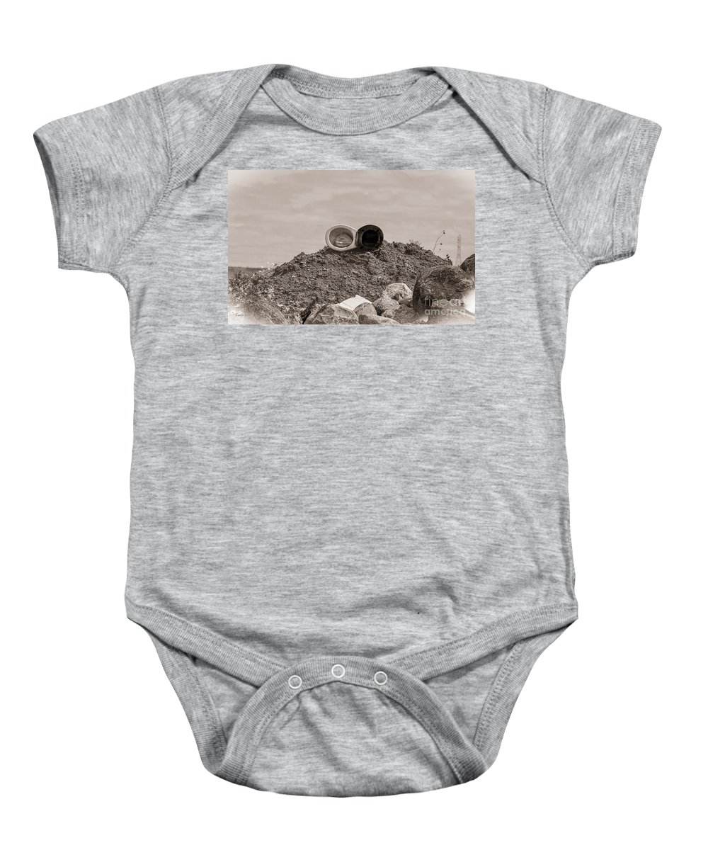 South Dakota Baby Onesie featuring the photograph Open Air Throne by M Dale