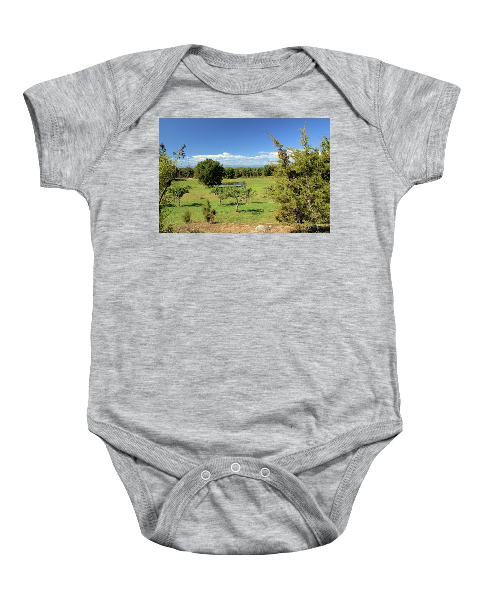 Orchard Baby Onesie featuring the photograph Orchard 1 H by Robert McCulloch