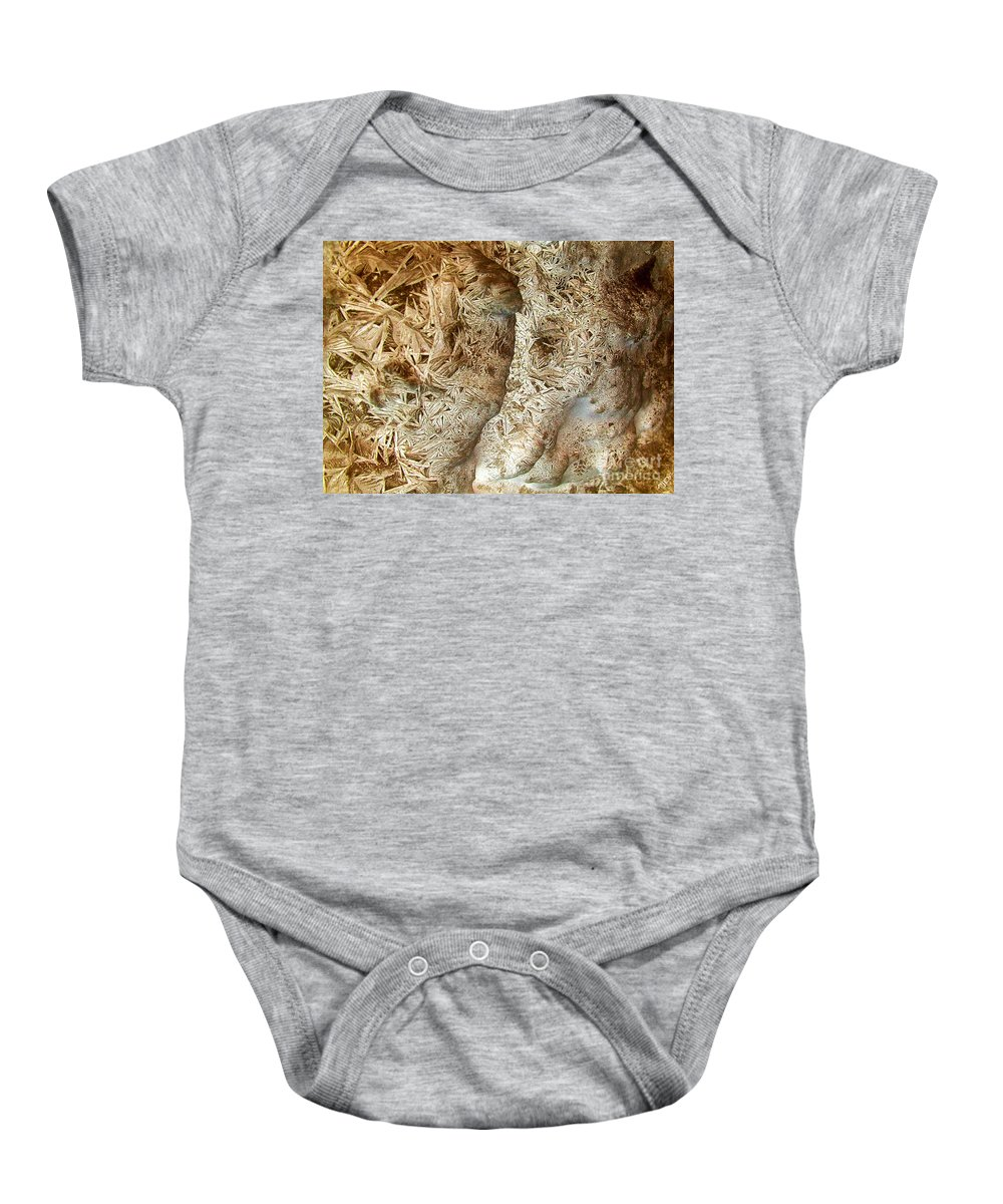 Oriented Strands Baby Onesie featuring the photograph Oriented Strands by Ron Bissett