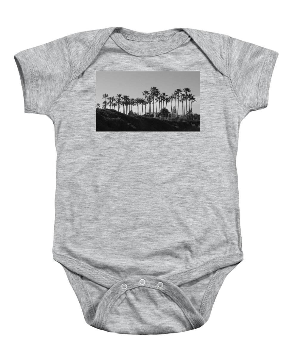 Landscapes Baby Onesie featuring the photograph Palms by Shari Chavira