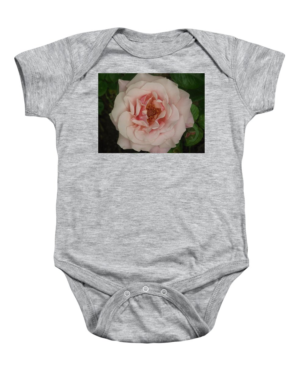 Rose Baby Onesie featuring the photograph Perfection by Belinda Stucki