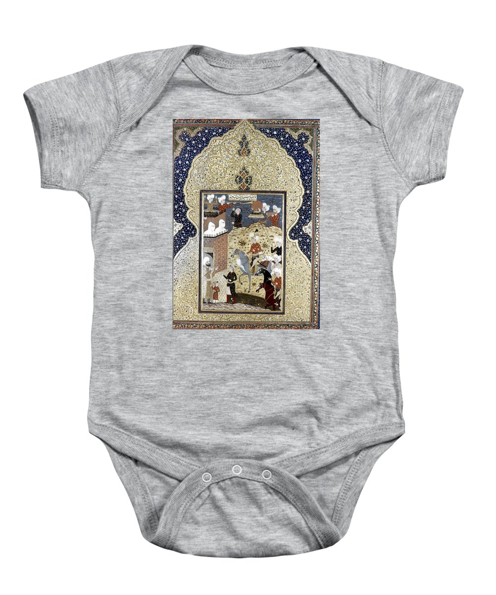 15th Century Baby Onesie featuring the photograph Persian Nobleman by Granger