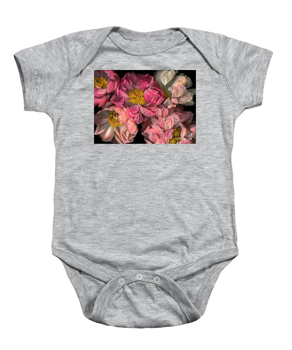 Cslanec Baby Onesie featuring the photograph Petticoats by Christian Slanec