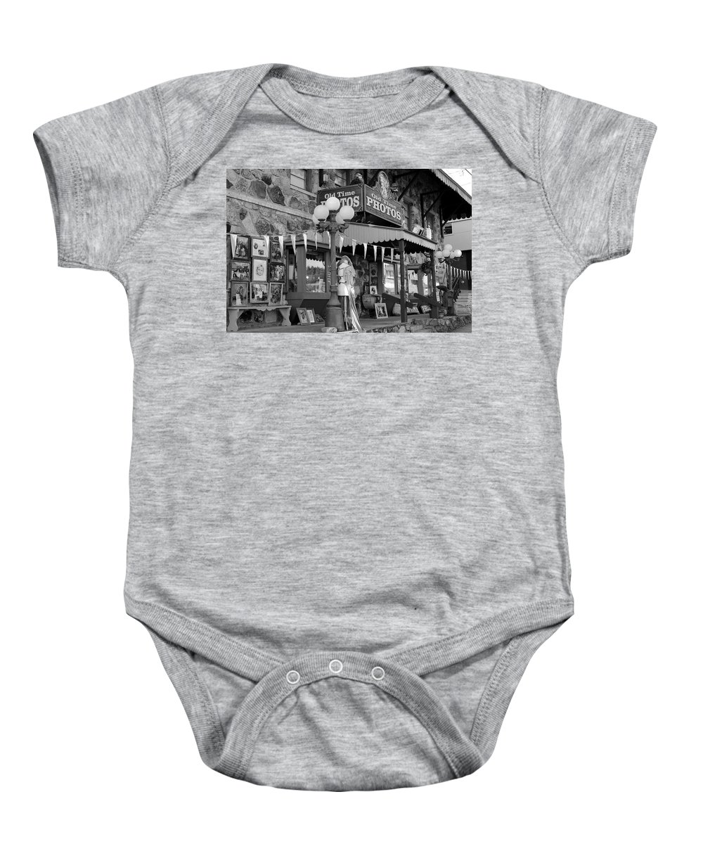 Old Time Photos Baby Onesie featuring the photograph Somewhere In Time by Fiona Kennard
