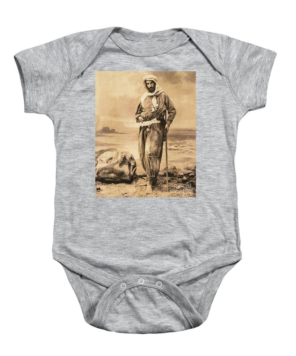 19th Century Baby Onesie featuring the painting Pierre Savorgnan De Brazza by Granger