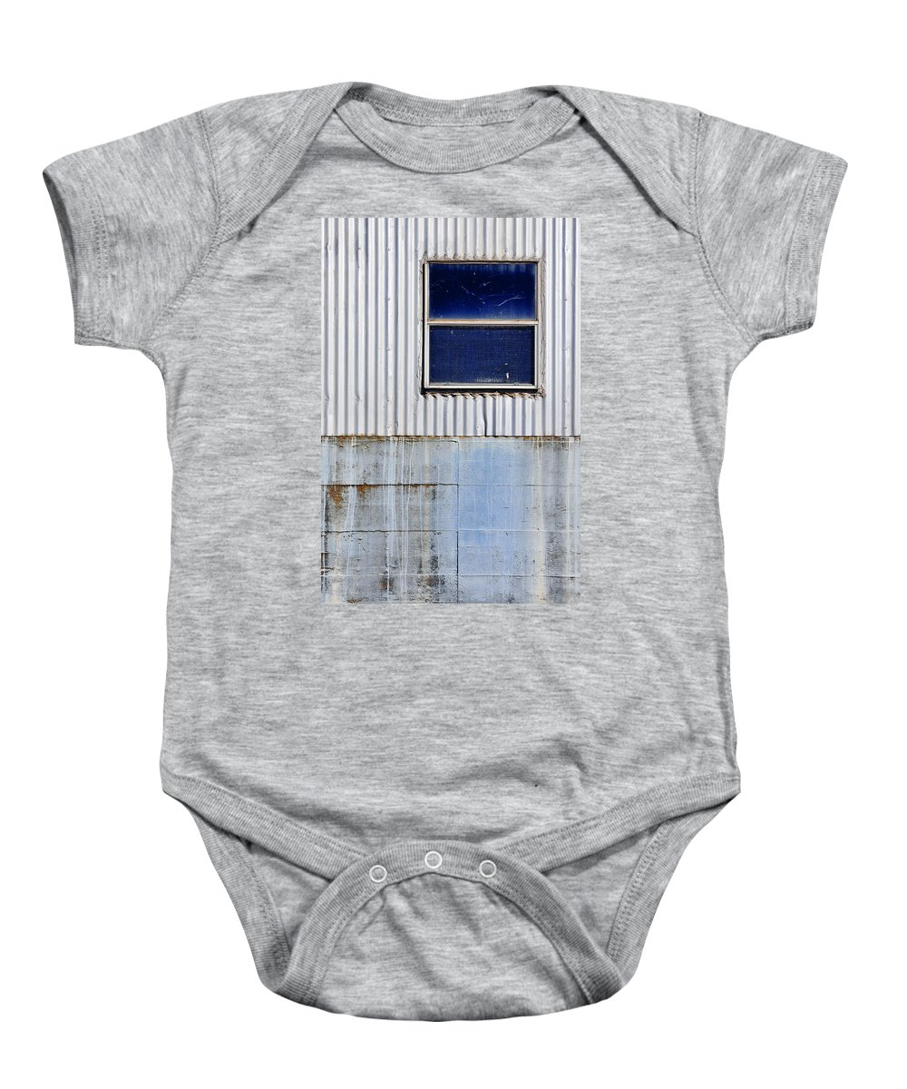 Skip Hunt Baby Onesie featuring the photograph Powder Blu by Skip Hunt