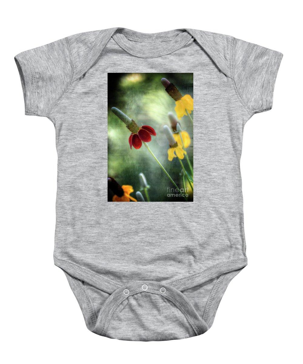 Arizona Baby Onesie featuring the photograph Prairie Coneflower by Saija Lehtonen