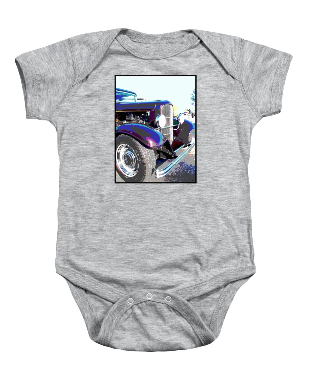 Cars Baby Onesie featuring the photograph Pride And Joy by Glenn McCarthy Art and Photography