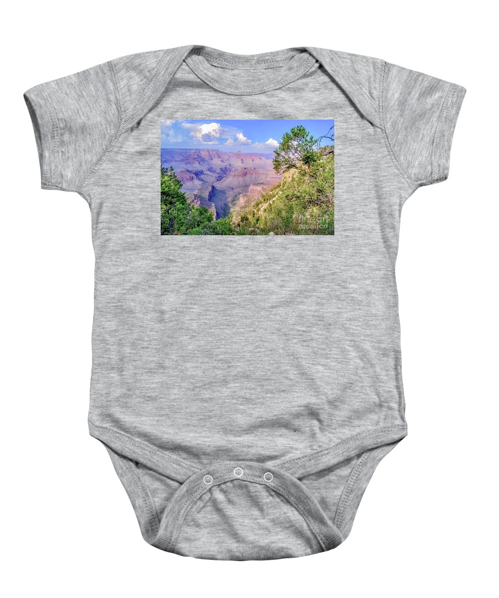Print Baby Onesie featuring the photograph Profound by Tara Ballard