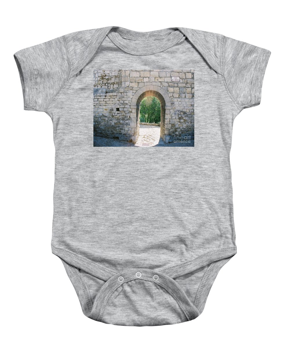 Promise Baby Onesie featuring the photograph Promise by Nadine Rippelmeyer