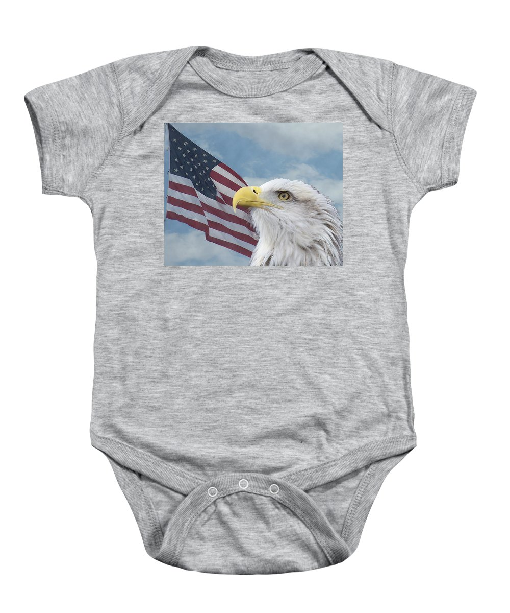 Birds Baby Onesie featuring the photograph Proud by Ernie Echols